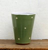 Becher dunkelgrün