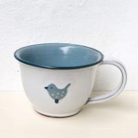 Tasse mit Vögelchen