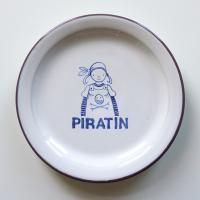 """Frühstücksteller """"Piratin"""""""