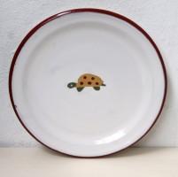 Frühstücksteller mit Schildkröte